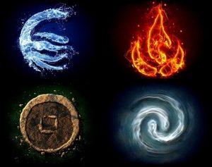 4 Elemen — untuk membersihkan amulet